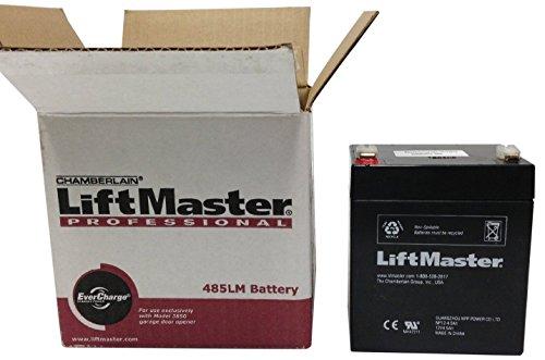chamberlain battery replacement instructions