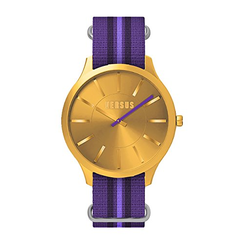 Versus SO627 0013-Montre Bracelet mixte adulte-nylon Violet