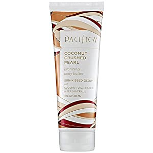 Pacifica Bronzing Body Butter, Coconut Crushed Pearl, 8 Ounce