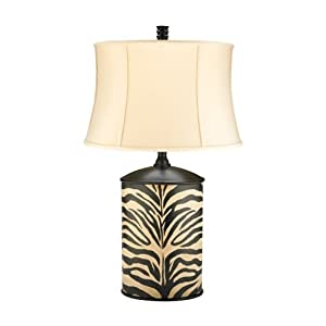 Zebra Sconces Room Ornament