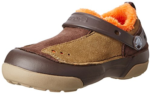 Crocs 15826 Dawson S-O Lined Slip-On ,Espresso/Khaki,12 M US
