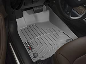 WeatherTech Custom Fit Front FloorLiner for Ford F150 Regular Cab, Grey