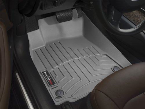 WeatherTech Custom Fit Front FloorLiner for Toyota 4Runner, Grey (Weathertech 4runner Mats compare prices)
