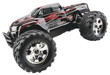 HPI Racing RTR 1/8 Savage Flux HP with 2.5 GHz and GT2 Truck Body