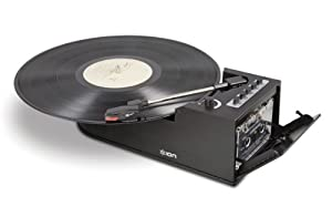 Ion IT34 Duo Deck Ultra-Portable USB Turntable with Cassette Deck (Discontinued by Manufacturer)