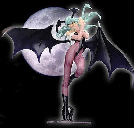 Capcom Girls Collection: Morrigan Heavy Gauge Statue