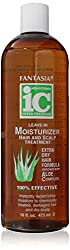 Fantasia IC Leave-In Moisturizer Hair and Scalp Treatment Extra Dry Hair Formula Aloe Complex 16oz