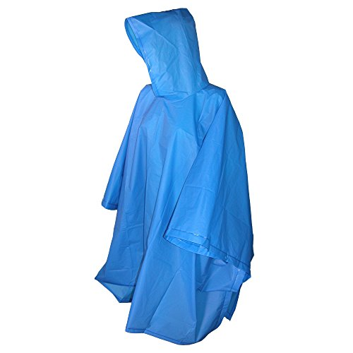 totes ISOTONER Unisex Hooded Pullover Rain Poncho