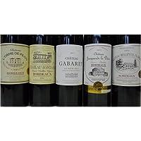 フランス・ボルドー金賞受賞ワイン 赤5本 750ml 飲み比べ5本セット