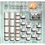 LED-Votives-and-Tea-Light-Kit-30-Pack-with-Extra-Batteries