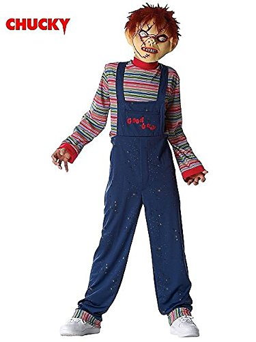 [Costume Culture By Franco Llc Men's Chucky Costume Multicoloured One Size] (Chucky Costume For Kids)