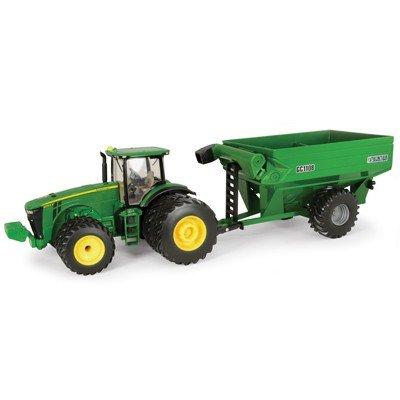 Ertl John Deere 8260R Tractor with Frontier Grain Cart, 1:32 Scale