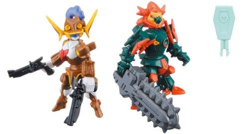LBX Battle Custom Figure Set LBX Jeanne D & LBX Hakaiger [JAPAN] - 1