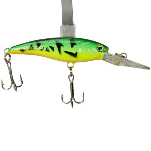 Minnow Fish Floating Stainless Steel Sharp Fishing Lure Bait Non-offset Hook
