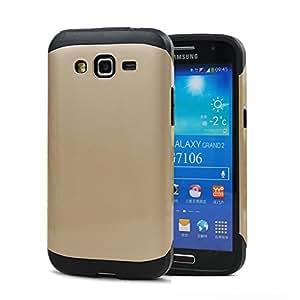 Grabmore Slim Armor Tough Rugged Back Case Cover for Samsung Galaxy Grand 2 G-7106 Grand2