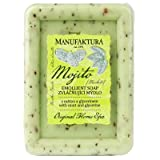 Manufaktura Home Spa Emollient Herbal Soap With Mint, Almond Oil And Glycerine