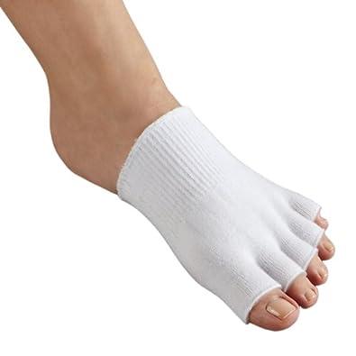 amazoncom footsmart gellined compression toe separating