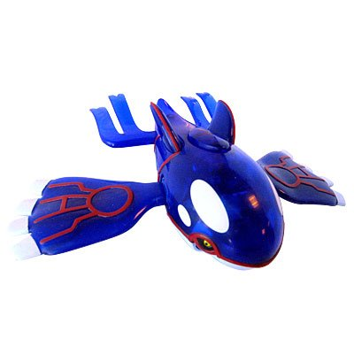 Pokemon 10th Anniversary Kyogre Action Figure with Ice Beam Attack