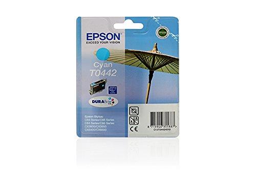 Epson Stylus CX 3650 - Original Epson C13T04424010 / T0442 - Cartouche d'encre Cyan -