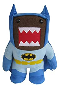 "Domo Batman Medium 9"" Plush, Blue"