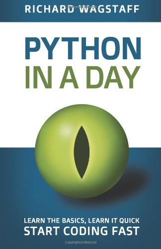 A book cover with a green reptilian eye in the center. The title text is blue and green on a white background.