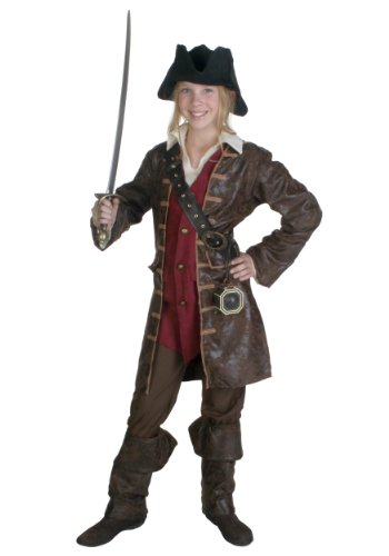 Big Girls' Caribbean Pirate Costume