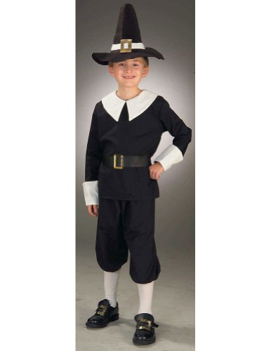boys - Pilgrim Boy Child Small Halloween Costume - Child Small