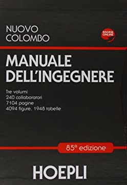 Cover Nuovo Colombo. Manuale dell'ingegnere