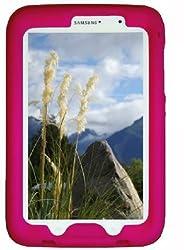 Bobj Rugged Case for Samsung Galaxy Note 8 Tablet, Model GT-N5100, GT-N5110, GT-N5120 - BobjGear Protective Tablet Cover (Rockin' Raspberry)