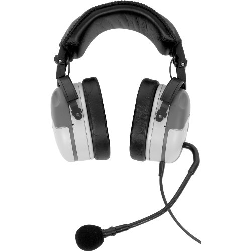 Telex Ph200R5, Dual-Sided Full Cushion Medium Weight Noise Reduction Headset, A5M Connector