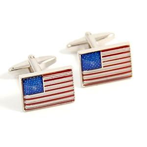 Executive United States Of America American Flag Cufflinks [Jewelry]