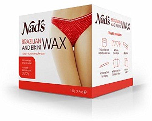 Nad's Brazilan & Bikini Wax Kit, 4.9-Ounces (Bikini Wax compare prices)