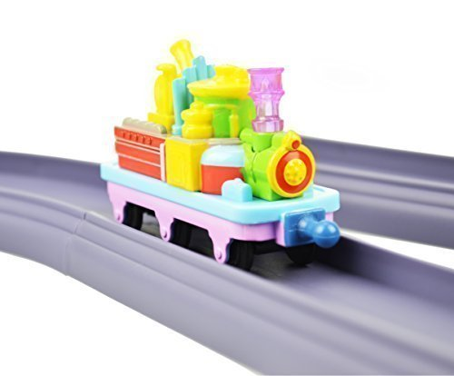 Chuggington Value Pack Toy Set Includes Straight and Curved 20 Piece Track Pack and Musical Train