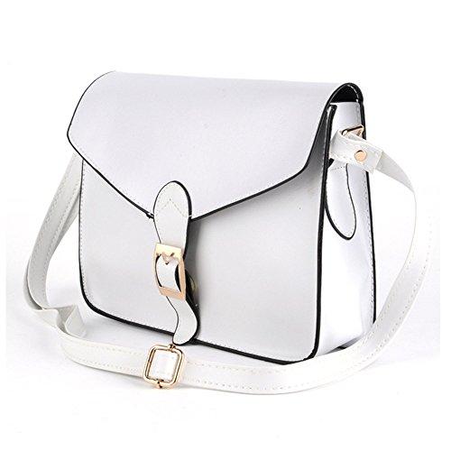 CRAVOG Moda donne borsa a tracolla Messenger Tote borsetta piccola Handbag