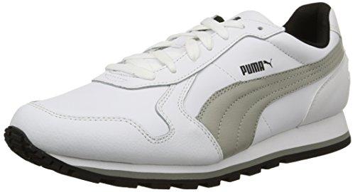 Puma St Runner Full L Scarpa da Running, Bianco/Limestone Gray, 8