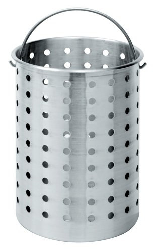 Review Bayou Classic B300 Perforated Steam, Boil, Fry Accessory Basket.  Fits 30-Quart Bayou Classic...