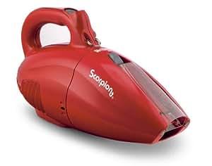 Dirt Devil Scorpion Quick Flip Corded Bagless Handheld Vacuum, SD20005RED
