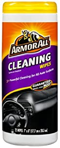 Armor All 10863 Cleaning Wipe - 25 Sheets from Armor All