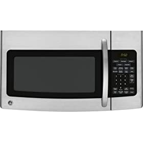 GE Profile Spacemaker Series JVM1750SPSS 1.7 cu ft. Over-the-Range Microwave Oven - Stainless Steel