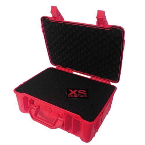 XSories Black Box Petite Mallette per Videocamera GoPro, Rosso