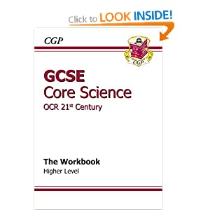 Ocr 21st century science core coursework