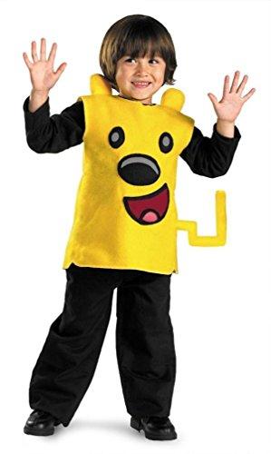 Wubbzy Classic Child Costume Size 3T-4T