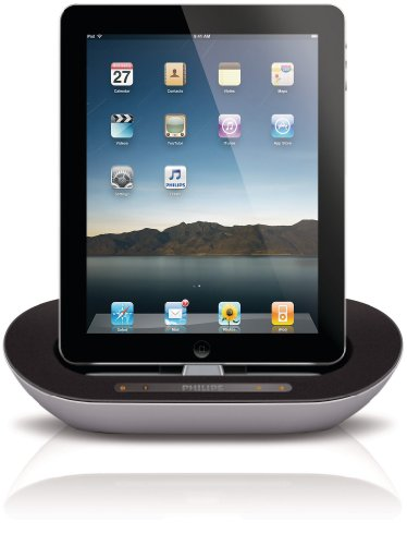 Philips DS3500/05 Portable Docking Speaker for iPad/iPhone/iPod with Bluetooth - White