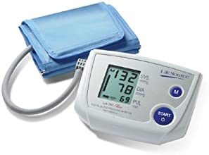 LifeSource UA-767PVL One Step Auto Inflate Blood Pressure Monitor with Large Cuff