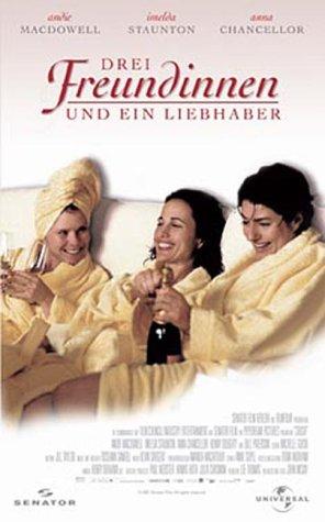 Drei Freundinnen und ein Liebhaber [VHS]