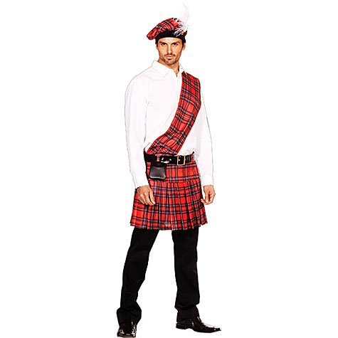 Hot Scottie Men's Sexy Costume