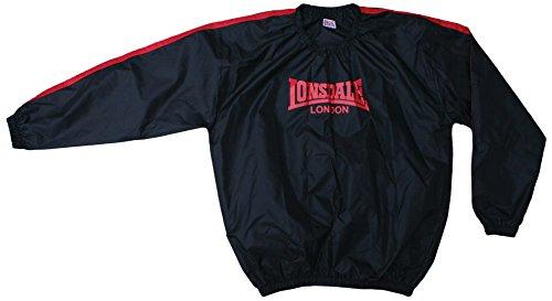 Londsdale, Felpa da boxe Uomo Lightweight, Nero (Black), L