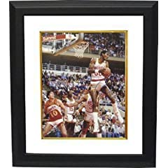 Ralph Sampson Autographed Hand Signed Houston Rockets 16x20 Photo Custom Framed vs... by Hall of Fame Memorabilia