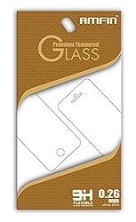 AMFIN For Infocus Bingo 50 Plus Tempered Glass, Tempered Glass For Infocus bingo 50+, 0.26mm Anti Explosion 9H Hardness Anti-Scratch Premium Tempered Glass For Bingo 50 Plus / Bingo 50+ Tempered Glass
