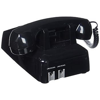 Cortelco(ITT-2500-MD-BK) Single Line Desk Telephone